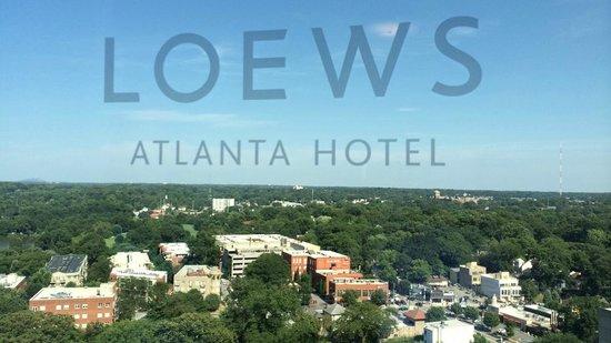 Loews Atlanta Hotel : 22nd Floor View looking East