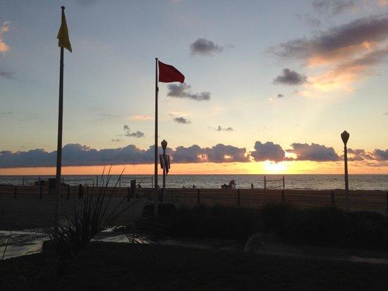 Residence Inn by Marriott Virginia Beach Oceanfront: During breakfast, at ground level.