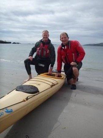 Kayak Wild Islay: Thanks Dave Great day