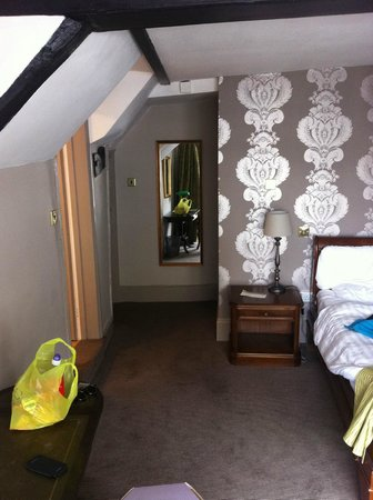 White Hart Hotel: room entrance