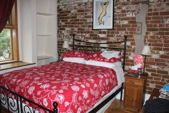 University Bed & Breakfast: Third floor bedroom (double bed)