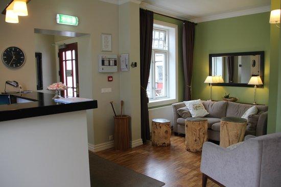 Reykjavik Residence Hotel: Rezeption