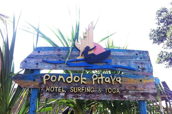 Pondok Pitaya: Hotel, Surfing and Yoga: Hello