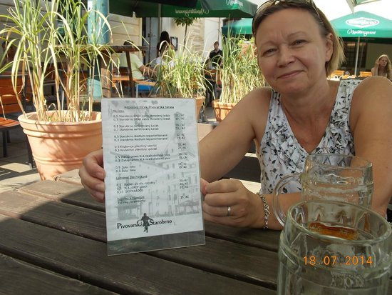 Starobrno Brewery: ценник