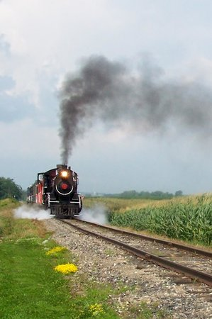 Waterloo Central Railway: WCR # 9 at speed