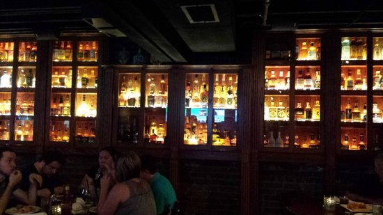 Miller House Bar With Over 300 Bottles Of Whiskey Picture Of The