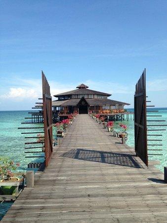 Lankayan Island Dive Resort : Ristorante