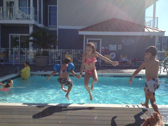 Fairfield Inn & Suites Chincoteague Island: Pool area