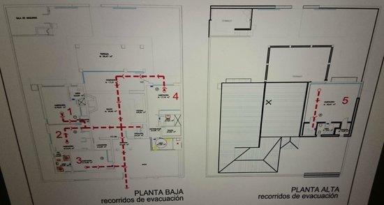 Sunny Dom Holiday Villa: floor plan
