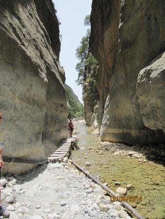 Samaria Gorge National Park: Jernporten