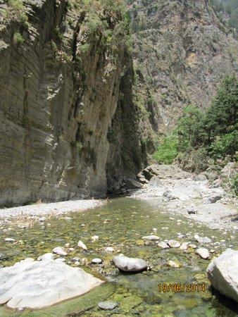 Samaria Gorge National Park: den skønne natur