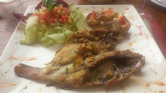 Poisson frais grill picture of restaurante mahoh villaverde tripadvisor - Restaurant poisson grille paris ...
