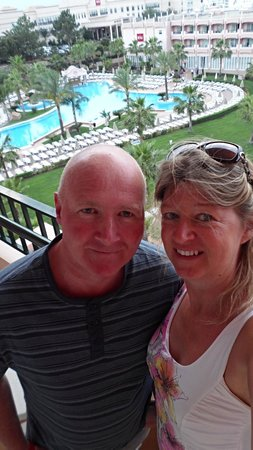 ClubHotel Riu Guarana: our selfie on the balcony