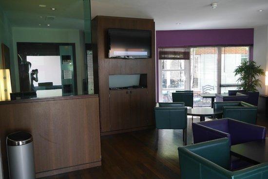 Crowne Plaza Hotel Marlow: Club lounge veiw 2