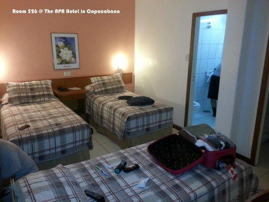 Apa Hotel: Triple Room