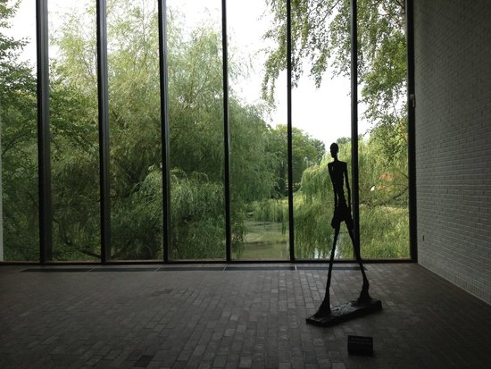 Luisiana Museum of Modern Art: Giacometti room