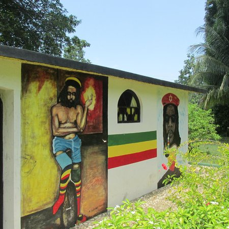Peter Tosh Monument : The Tomb of Peter Tosh side wall