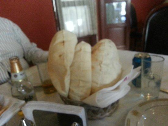 Al andalus: Pan arabe calientito
