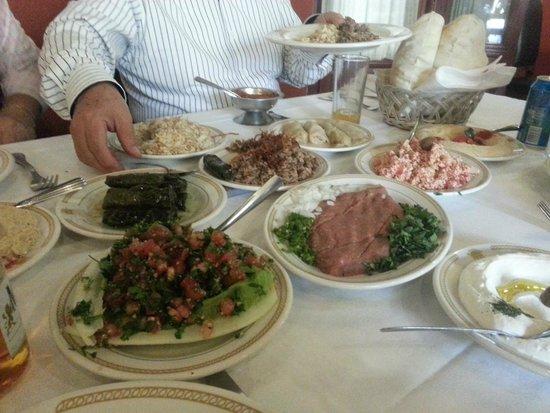 Al andalus: Comida para 4