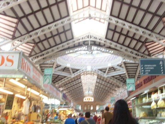 Central Market (Mercado Central) : inside