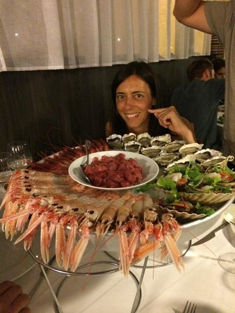 San Bonifacio, Italien: Excellent sea food