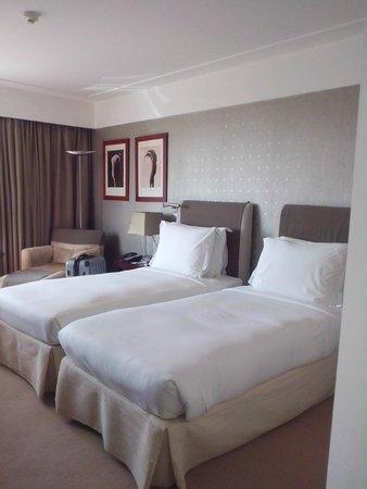 InterContinental Lisbon: chambre, 2 lits comme demandé a la commande