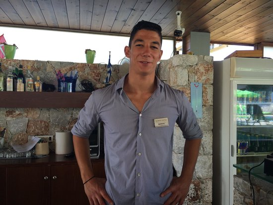 Iolida Village: Marios the bartender