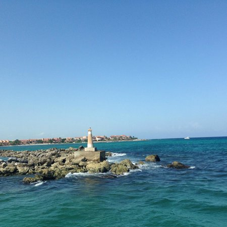 Catamaya Sailing Cruises: Vista desde Catamaran de Puerto Aventuras