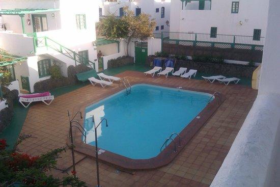 Celeste Apartments: Child free section pool area