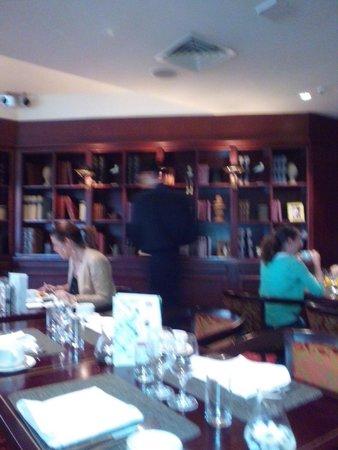 InterContinental Lisbon : salle petit dejeuner