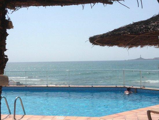 Servigroup Galúa : Vista desde la piscina