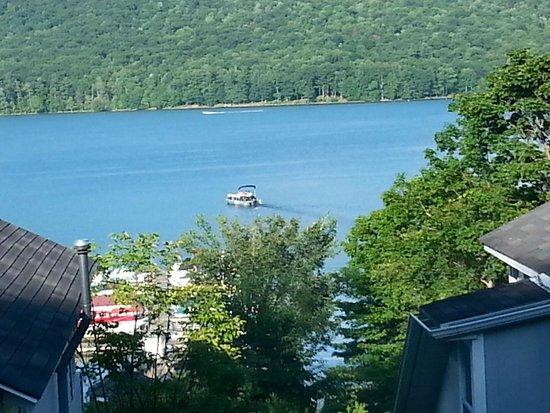 Bayside Inn & Marina : View from Balcony