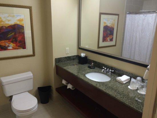 Sheraton Agoura Hills Hotel : Nice spacious bathroom
