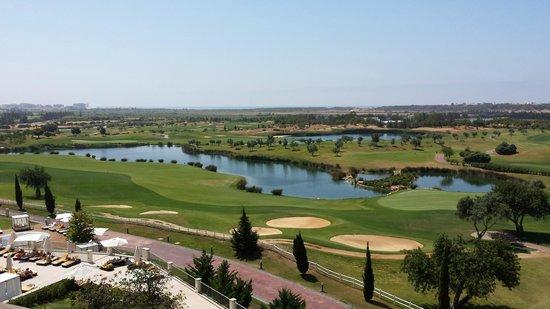 Anantara Vilamoura Algarve Resort : view from the roof pool
