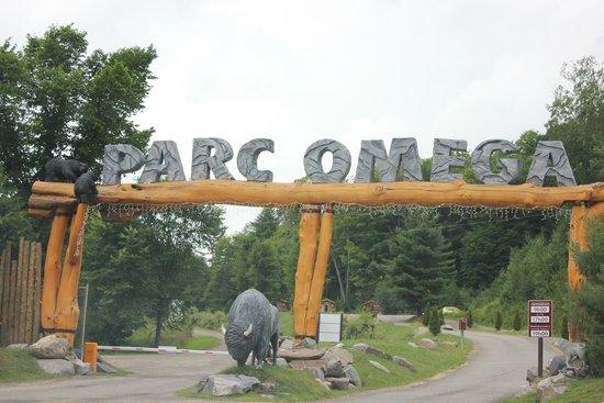 Parc Oméga : entrance