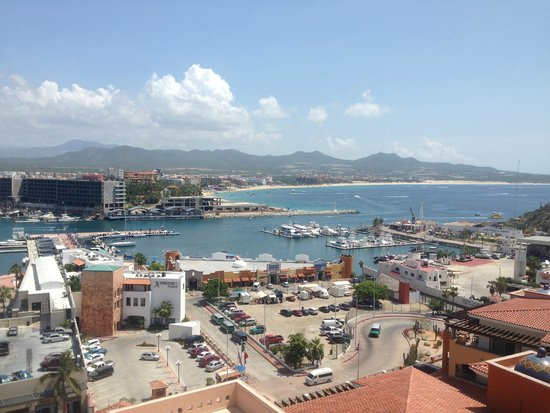 Playa Grande Resort: View from the Presidential Suite overlooking the marina.