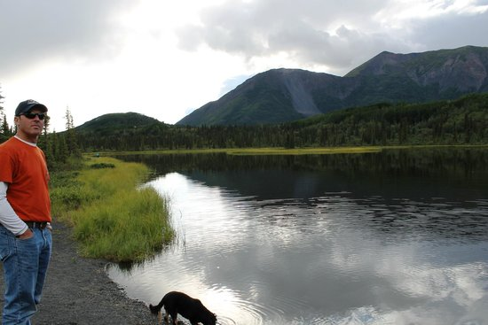 Matanuska Lodge: lake