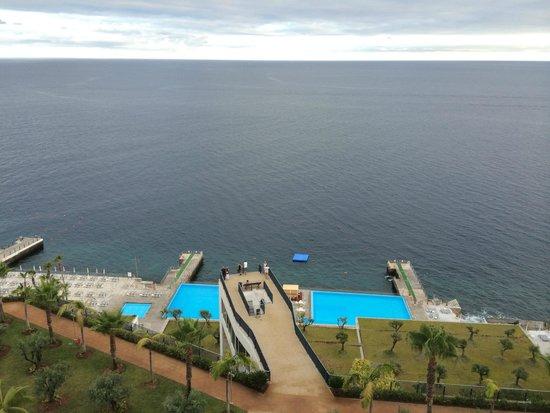 VidaMar Resort Hotel Madeira : Вид на пляж