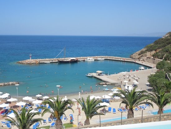 Mirabello Beach & Village Hotel : View from our balcony