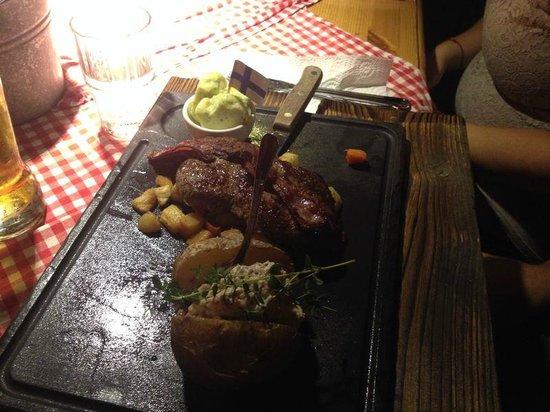 Restaurant Zetor: La bistecca del trattorista