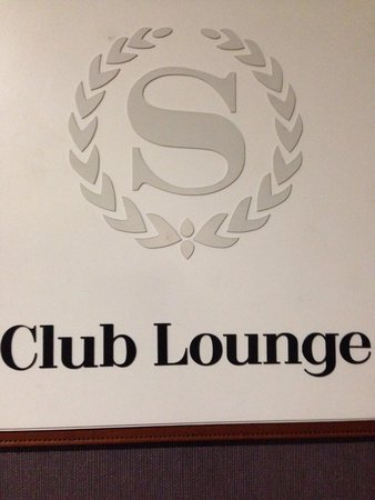 Sheraton Pleasanton Hotel : Club lounge is located on sixth floor