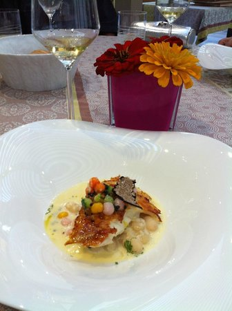 La Marande : Fish course