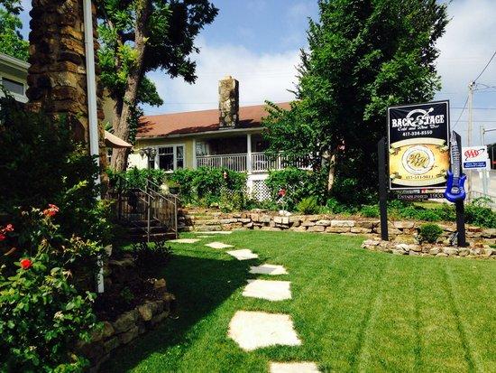 The Branson Hotel : The garden