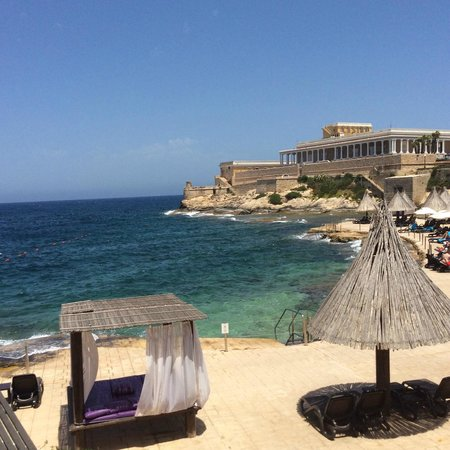 The Westin Dragonara Resort, Malta: the below level near to the sea