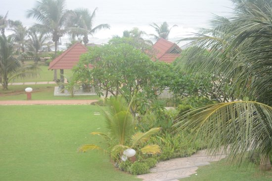 The Park Visakhapatnam: View from my room 310
