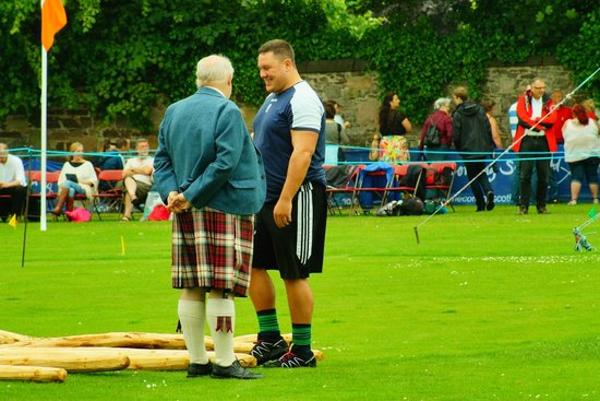 Atholdene House: Highland Games