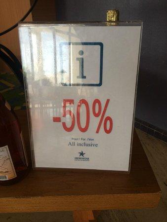 Iberostar Founty Beach: 50% en tout inclus !?