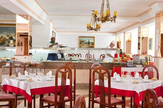Blue Sea Don Jaime: buffet/restaurant