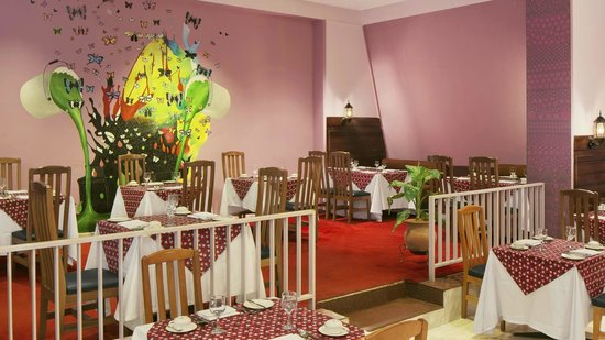 Sheraton Abuja Hotel : Papillon Restaurant