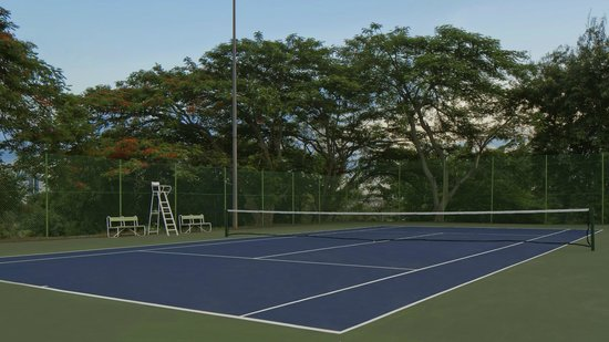 Sheraton Abuja Hotel : Tennis Court